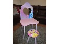 Princess Dressing Table & Stool