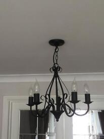 3 x matching ceiling lights