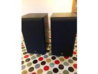 KEF Cresta 2 Speakers in black VGC