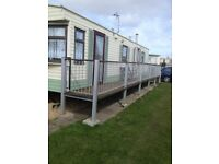 caravan to rent ingoldmells 2 bedroomed 17th to 24th june