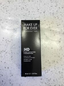 Brand new Make Up For Ever High Definition Foundation