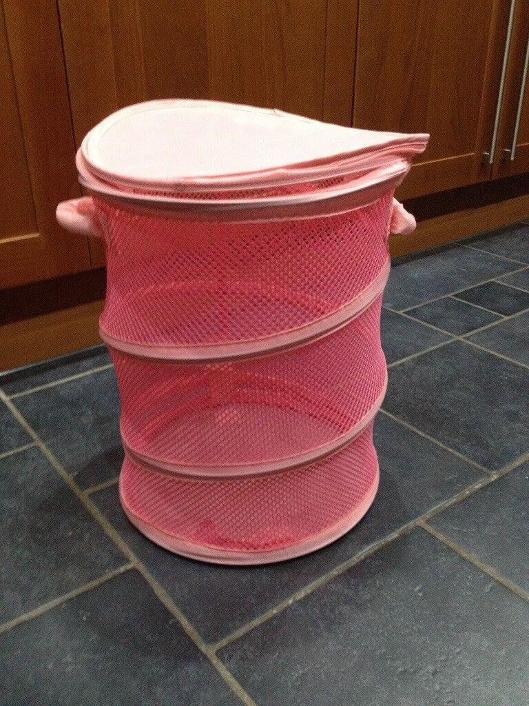 Pink Toy storage bin (45x36cm)