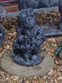 Lovely little boy statue