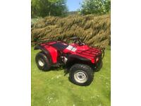 HONDA QUAD BIG RED 300cc 2WD FARM QUAD BIKE