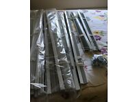 White Ikea venetian blinds