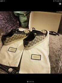 Gucci trainers size 40 uk 7 unisex