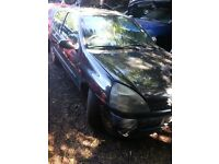 2003 RENAULT CLIO 1.2 16V PETROL BREAKING FOR PARTS