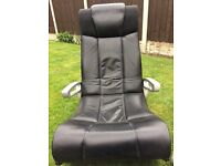 X rocker gaming chair excellent condition