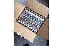 Box of 50 records