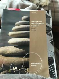 Principles of organisational behaviour
