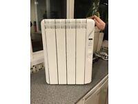 elnur RF4E 500w digital inertia electric radiator, 415mm 4 element