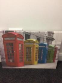 Telephone Boxes Picture