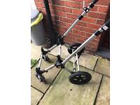 Bugaboo cameleon 2 frame and wheels