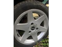 Smart Fortwo alloy wheel