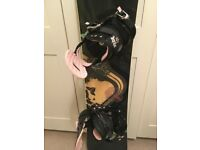Snowboard 142cm, boots (EUR 36 UK 3.5), bindings, carry bag with shoulder strap and handle, FULL SET