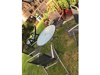 Garden table and 4 seats