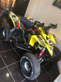Suzuki ltr 450 road legal 2009