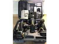 PRO Cordless Power Tool Set, Hammer Drill, Jigsaw & Circular Saw