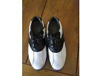 Unisex junior foot joy golf shoes
