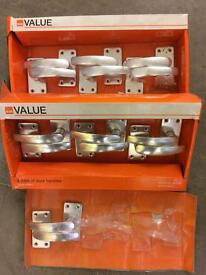 7 Pairs of door handles