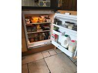 CDA integrated under counter fridge