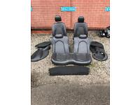 Ford Ka leather interior seats
