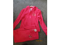 Ladies LIPSY hot pink tracksuit size 14