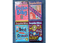 4 Jacqueline Wilson books - Only £3
