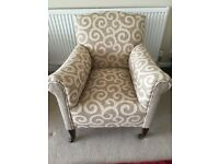 VERY ATTRACTIVE NEWLY REFURBISHED ARMCHAIR