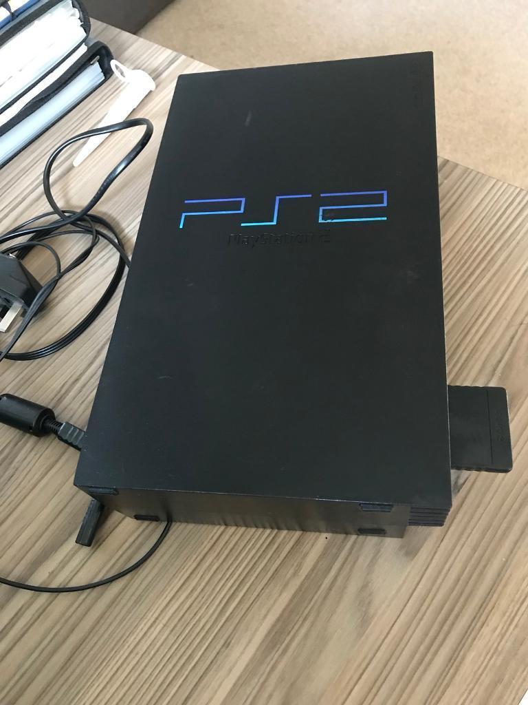 PS2 console plus 40 games