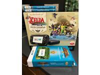Nintendo Wii U Legend of Zelda Limited Edition Console 32GB