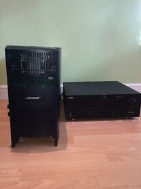 BOSE ACOUSTIMASS 10 Series III Sound System with Speakers and Reciever