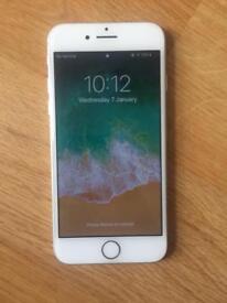 IPhone 8 WHITE/SILVER passcode locked