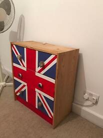 Chest of drawers - Union Jack