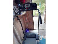 confidence fitness electric treadmill. 230v 1100w.