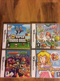 Mario Nintendo DS games