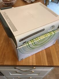 Xbox 360 console - boxed with wireless adapter and 2 x remote controls