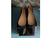 BRAND NEW WITH BOX - Suede Ballet Pumps - SIZE 7 from Jones Bootmaker