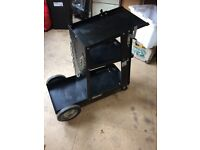 MIG - TIG - WELDING CART / TROLLEY made by Clarke Tools