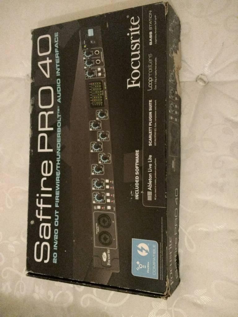Focusrite Saffire Pro40