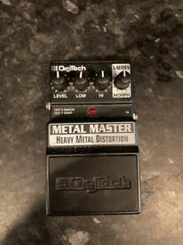 Digitech METAL MASTER Heavy Metal Distortion pedal