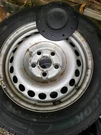 Vw T5 T6 steel wheels