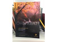 John Keats poetry York notes advanced