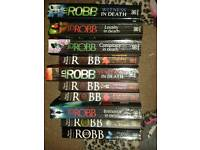 """J D Robb """" In Death """" novel series 1 - 42 paperback + 5 other books"""