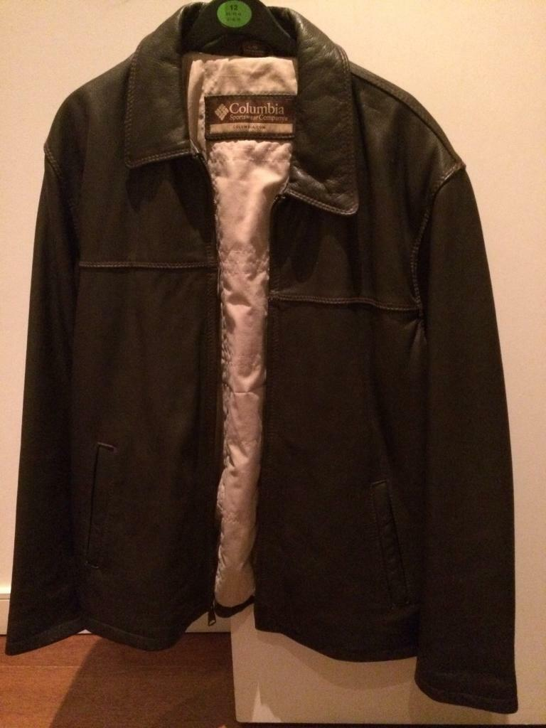 Brown leather jacket by Columbia clothingin Islington, LondonGumtree - Columbia clothing large brown leather jacket. Bought for £300 a few years back and never worn. Great condition and excellent quality leather
