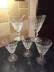 WATERFORD CRYSTAL Glasses - Tramore Cut