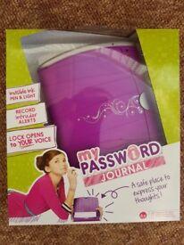 My Password Journal - Mattel