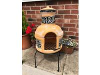 BBQ Chiminea - new