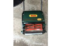 Webbs H12R Handpush cylinder Lawnmower with rear roller.Like new used only twice