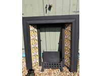 Period Style Tiled Fire Surround